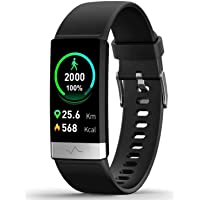 MorePro Heart Rate Monitor Blood Pressure Fitness Activity Tracker with Low O2 Reminder, IP68 Waterproof Smart Watch…