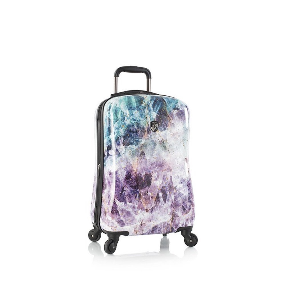 Heys America Unisex Quartz 21'' Spinner Purple Luggage by HEYS AMERICA