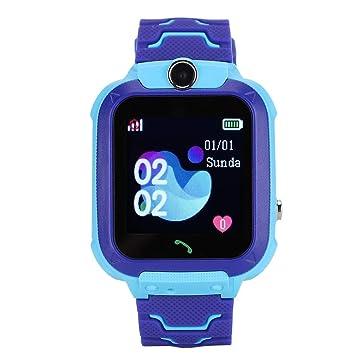 Tangxi Reloj Inteligente Niño,Localizador GPS Niños,Rastreador GPS ...