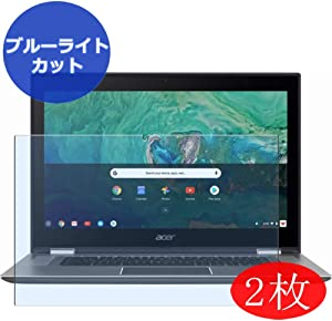 "【2 Pack】 Synvy Anti Blue Light Screen Protector for Acer Chromebook Spin 15 CP315-1H 15.6"" Screen Film Protective Protectors [Not Tempered Glass]"