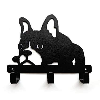 Amazon.com: YOURNELO Cute Ironwork Puppy French Bulldog Dog ...