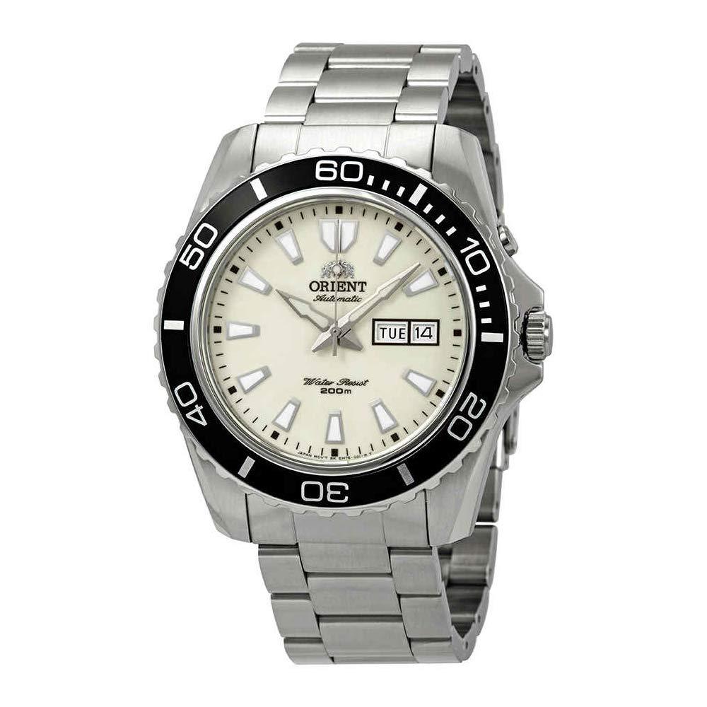 Orient Reloj Analogico para Hombre de Automático con Correa en Acero Inoxidable FEM75005R9