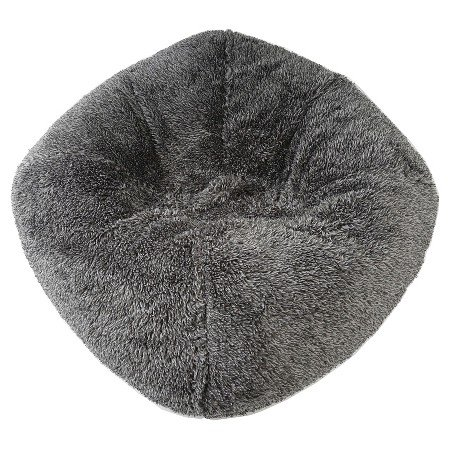 Fuzzy Bean Bag Chair Gray by Pillowfort