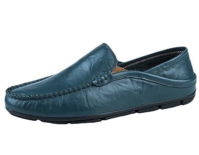 Chaussures En Enfiler Sk Cuir Mocassins Studio Pour Homme nPw0OkX8
