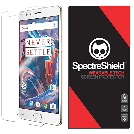 OnePlus 3T Screen Protector Spectre Shield Accessory Screen Protector for  OnePlus 3T Case Friendly Full Coverage Clear Film