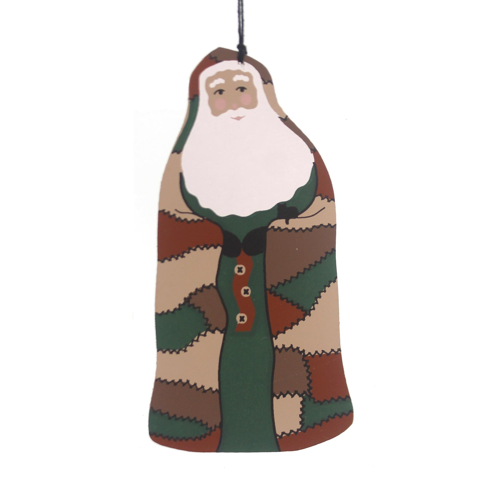 CATS MEOW VILLAGE Country Christmas Santa 1993 Ornament Special Commission 1993