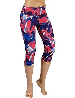 2fcb810792052 Befullo Women's Yoga Pants Capri Legging Workout Gym Tights (L, Octopus) ·  $21.99 · ODODOS High Waist Out Pocket Printed Yoga Pants Tummy Control  Workout ...