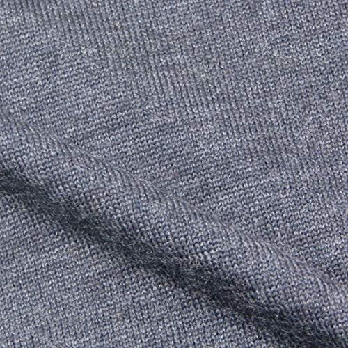 メンズ ハイゲージ タートル ウォッシャブル ウール100% 12ゲージ 5色