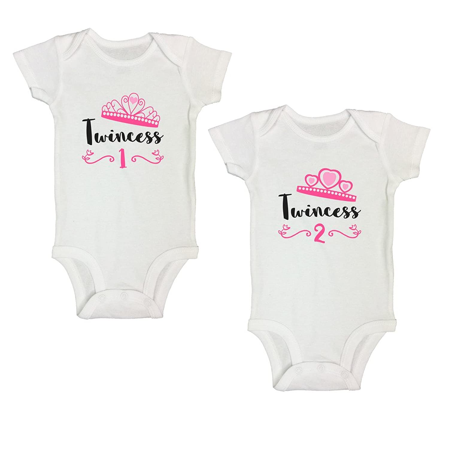 e4495af7e Adorable Twin Sets - 2 Pieces Super cute! Ships within 24 hours - To You in  2-5 Days. Designed and Sold Exclusively by Funny Threadz® Trademark Brand