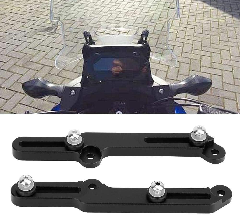 negro ajustadores de parabrisas de motocicleta soporte de parabrisas para NC750X 2016-2019 Ajustadores de parabrisas Suuonee