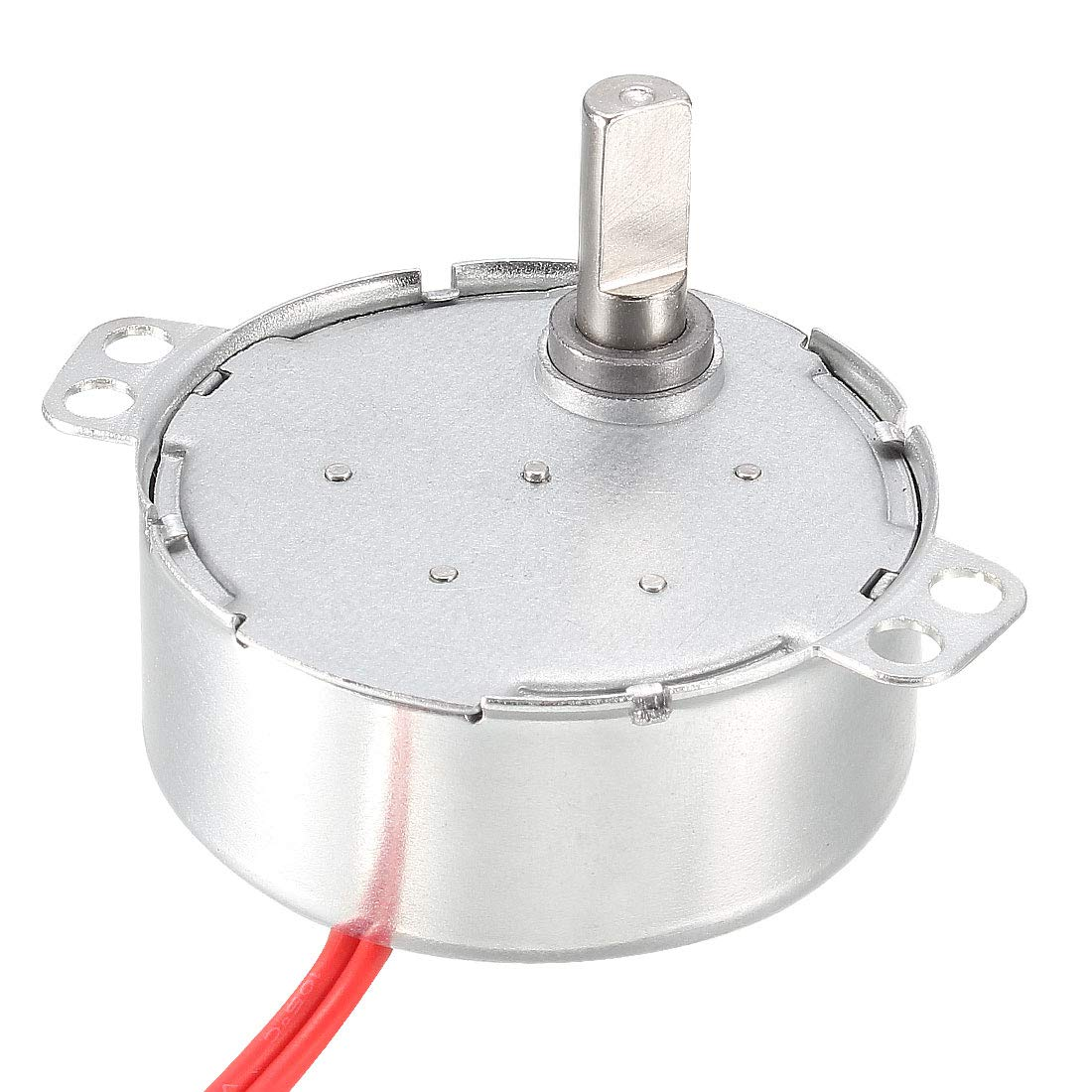 uxcell Synchronous Synchron Motor AC 24V 4W 5-6RPM/MIN 50-60Hz CW for Hand-Made, Model or Guide Motor