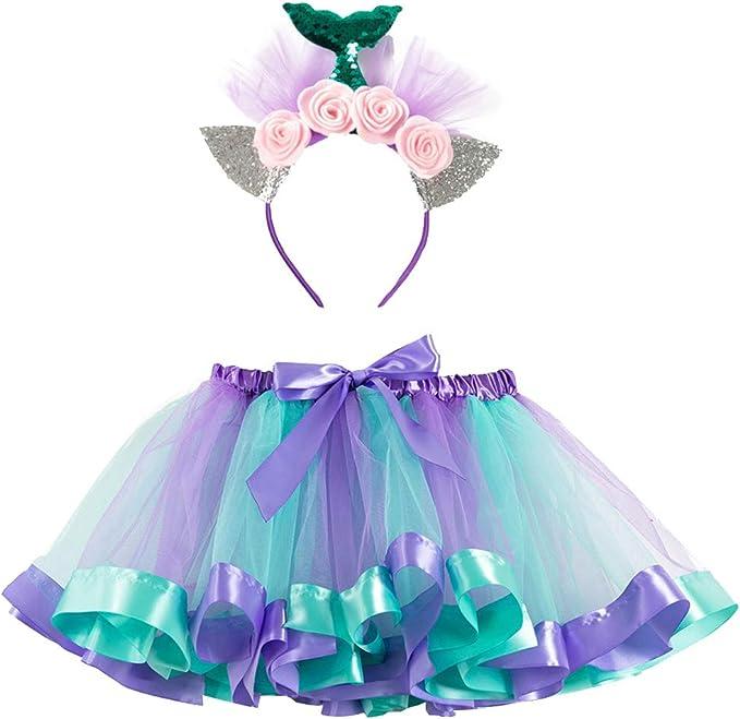 goneryisour - Falda tutú para Fiesta de Baile de Ballet para niñas ...