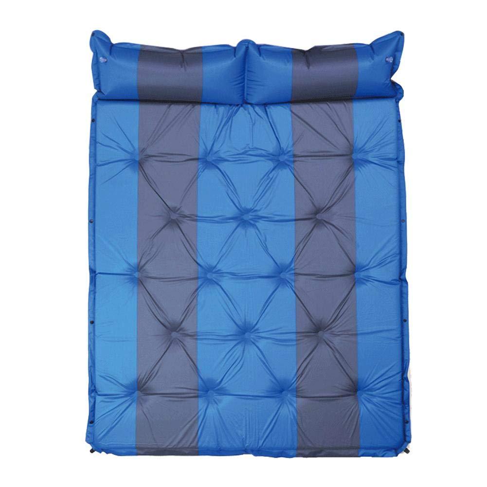 Bleu  circulor Matelas De Voiture, avec Pompe à Air, Lit Pneumatique pour Matelas De Voiture Lit Gonflable