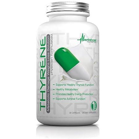 Amazon.com: metabólico Mantenimiento thyrene Suplemento de ...