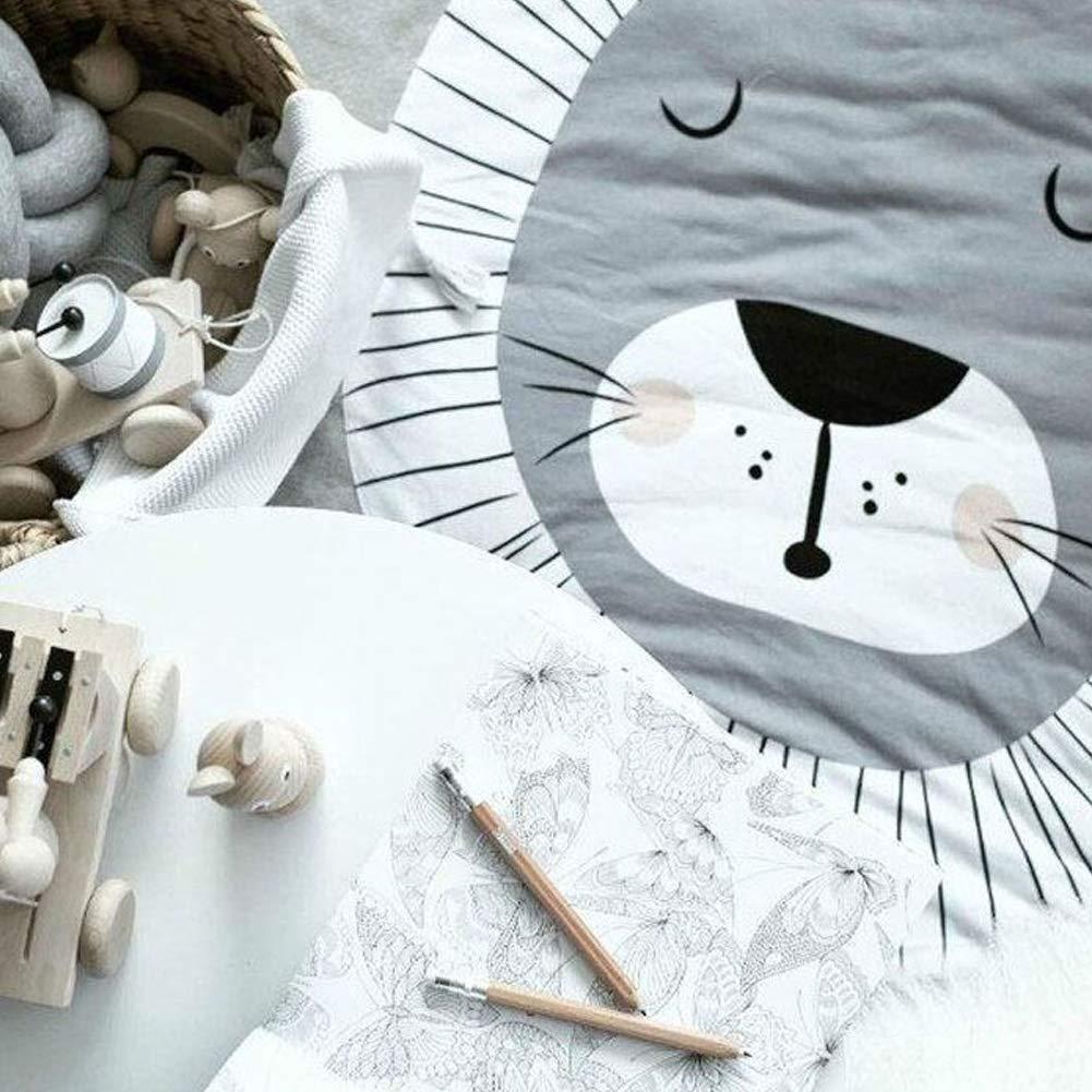 Lion style Produits Pour B/éb/és Tapis de jeu Crawling Mat Matelas de Sitting Coussin en coton non-Slip Mat pour enfants enfants enfants en bas /âge Chambre