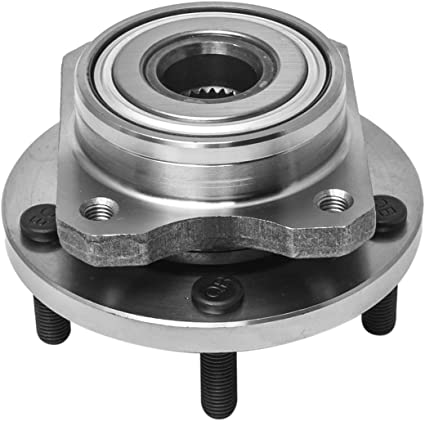 Pair 2 Wheel Hub and Bearing Assembly Fits Town Country Grand Caravan Rout