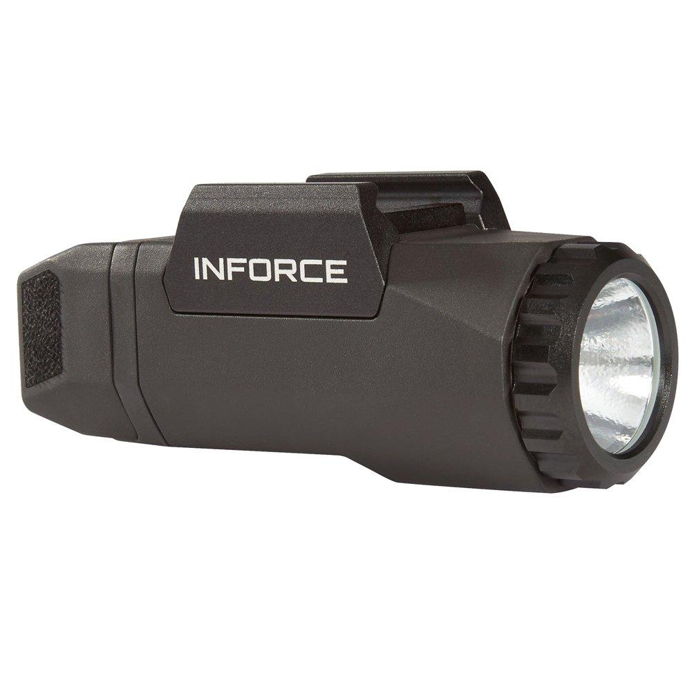 InForce Auto Pistol Weapon Mounted White LED Light 400 Lumens Generation 3 Black A-05-1 by INFORCE/EMISSIVE ENERGY