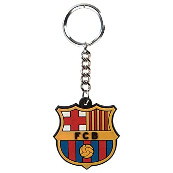 Fc Barcelona Crest Multicolor Keychain Amazon Bags Wallets