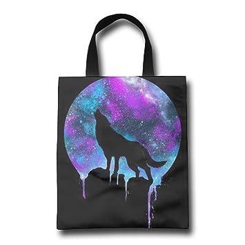 d78d5ba0e MVKHOD - Bolsas para asa de la compra, diseño de lobo con pintura al óleo:  Amazon.es: Bricolaje y herramientas