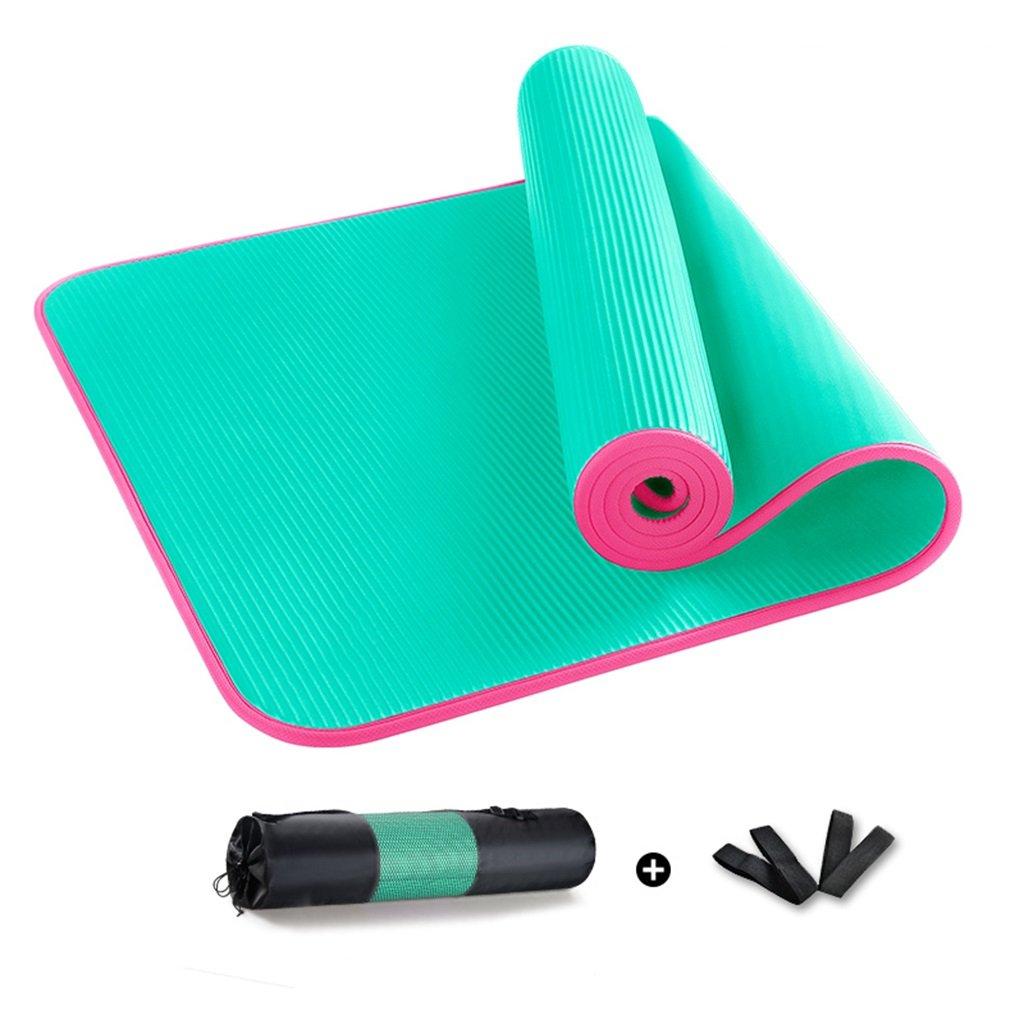Chang Xiang Ya Shop Rutschfeste 10mm Yogamatte erweiterte Anfänger Fitness-Matte können beide Männer und Frauen Yoga-Tanzmatte 185  80 cm (72,8  31,5 Zoll) verwenden