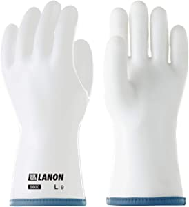 LANON Protection Liquid Silicone Oven Gloves for Barbecue, Baking, Heat Resistant Grill Glove, Food Safe, BPA Free, Extra Large, CE Listed, CAT III