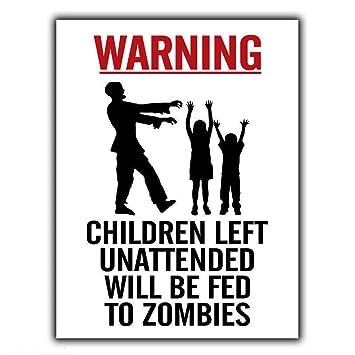 Hunnry Warning Kids Left Desatendido Conviértase en ...