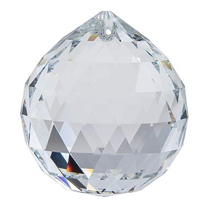 027d8c50d4 Amazon.com: 50mm Swarovski Clear Crystal Ball Prisms 8558-50: Home & Kitchen