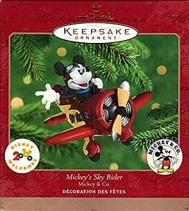"""""""Mickey's Sky Rider"""" Christmas Ornament"""