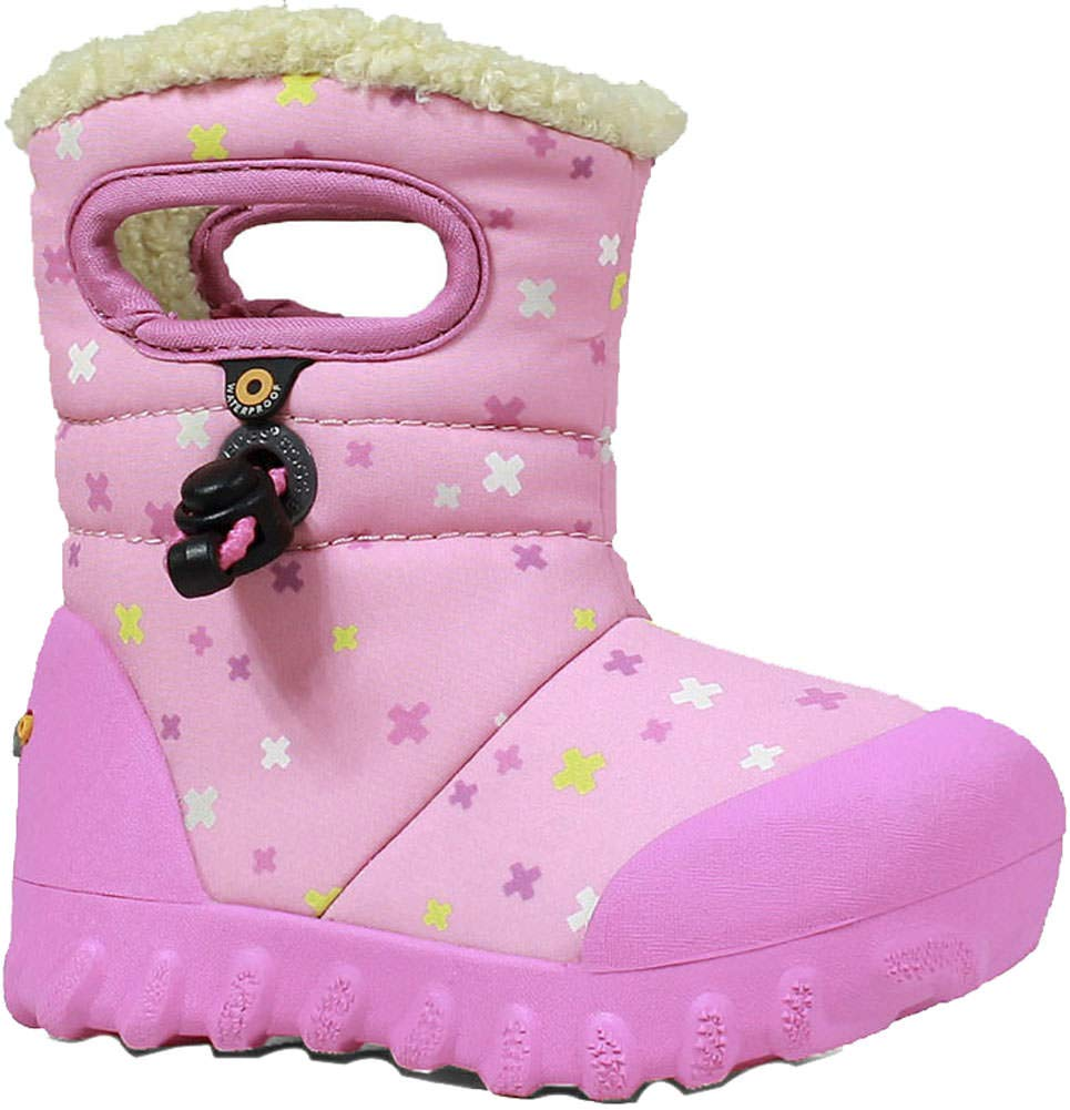 a0d1236779 Bogs Baby B-Moc Waterproof Insulated Kids/Toddler Winter Boot, Plus  Print/Pink/Multi, 4 M US