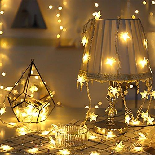 MengK 16.4ft 40 LED String Lights