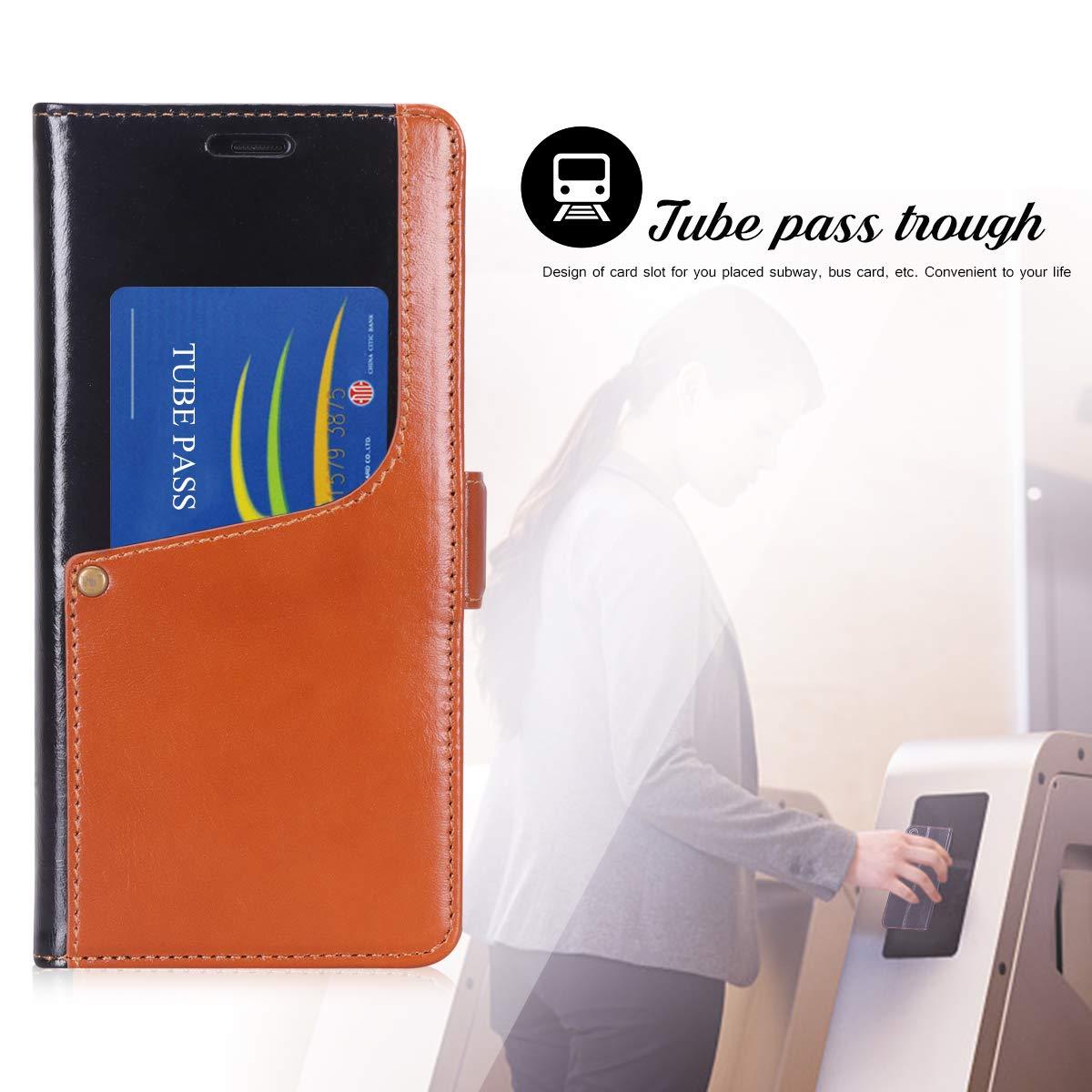 Amazon.com: Toplive Note 9 - Funda de piel de vaca con ...
