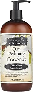 Renpure Curl Defining Coconut Cleansing Conditioner, 16 Ounce
