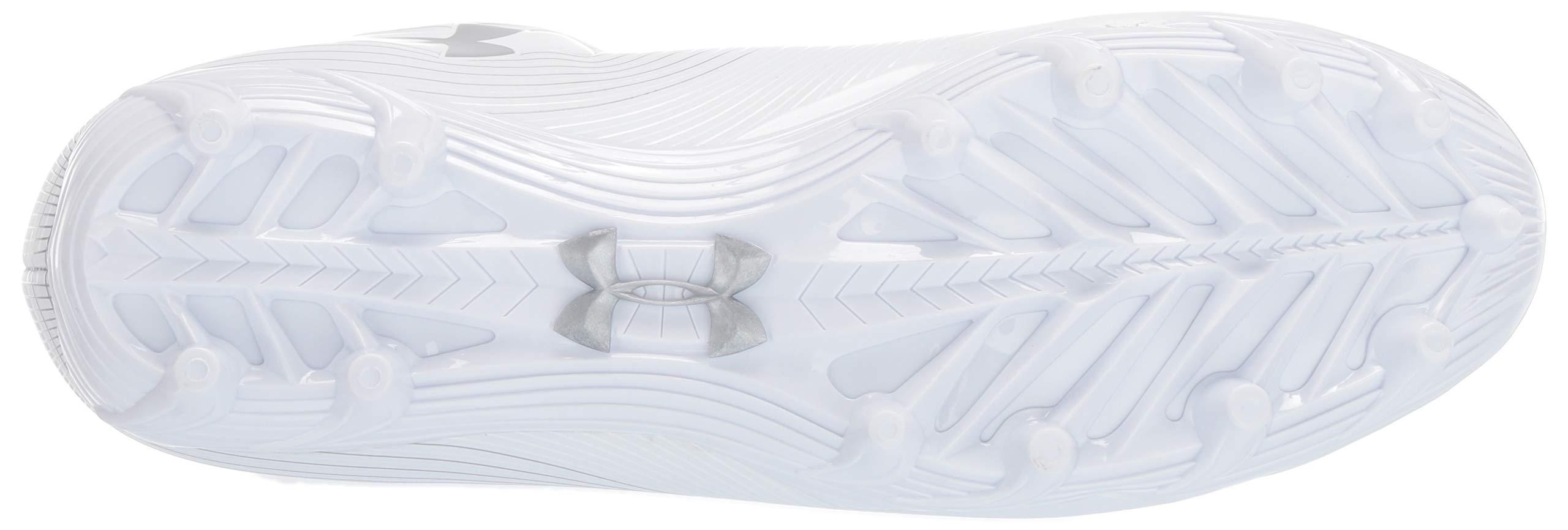 Under Armour Men's Speed Phantom MC Football Shoe, White/White, 7.5 M US by Under Armour (Image #3)
