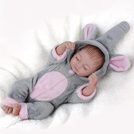 Amazon.com: Muñeca realista bebé bebé niño completo de ...