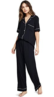 Amazon.com: Eberjey Gisele pijama de dos piezas con camisa ...