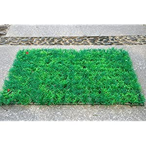 FYYDNZA 1Pc 40X60Cm Grass Micro Landscape Decoration Mini Garden Simulation Fake Plants Artificial Moss Decorative Grass 15