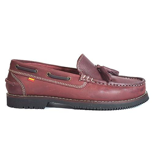 Zapatos Apache LA Valenciana Montijo Burdeos - Color - Burdeos, Talla - 41