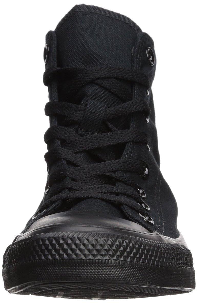 Converse Unisex-Erwachsene Ct A/S Lthr Hi Wht Monoch Sneaker Sneaker Monoch schwarz Monochrome ce4aac