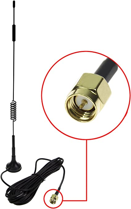 SMA male to female WiFi antenna extension cable magnetic base 3G 4G UX