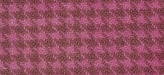 "product image for Weeks Dye Works Wool Fat Quarter Houndstooth Fabric, 16"" by 26"", Peony"
