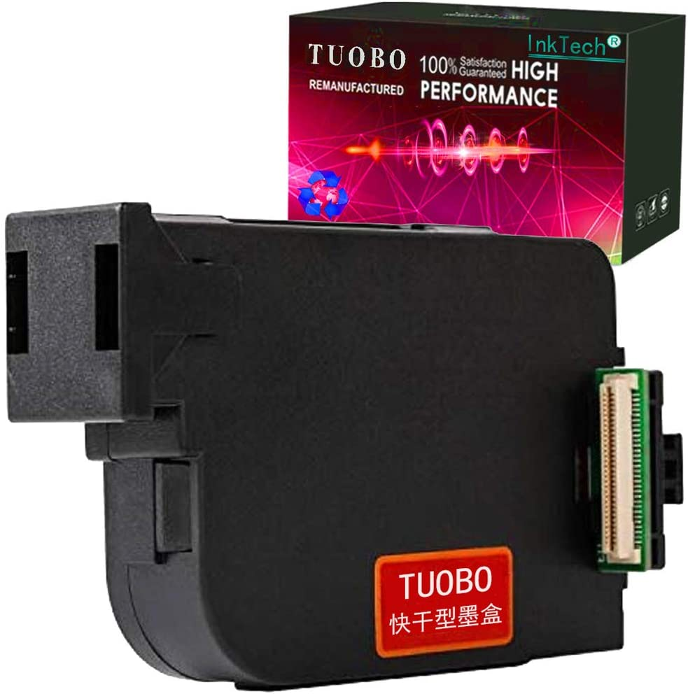 Tuobo Original Handheld Ink Cartridge Replacement for Handheld Inkjet Printer Black,Red,Yellow,Blue,Green,White White