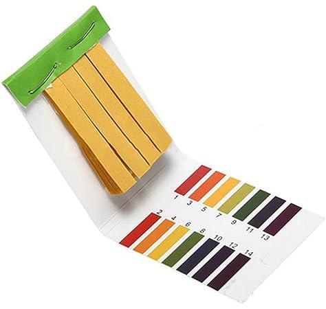 80 Tiras herramienta de prueba sana Análisis Instrumentos de medida del papel de prueba 1-