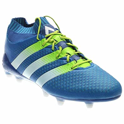 huge discount 3f795 0e339 adidas ACE 16.1 Prime Knit FG Cleats  Shoblu  (6.5)