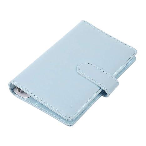 Amazon.com: Cuaderno de espiral A6, carpeta de oficina con ...