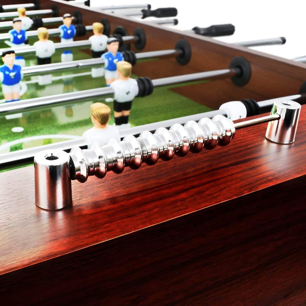 Festnight Futbolín de Acero para Competiciones Individuales o ...