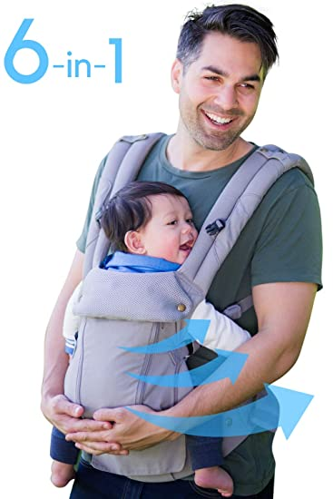 Amazon Com 360 Ergonomic Baby Carrier All Season Baby Sling 6