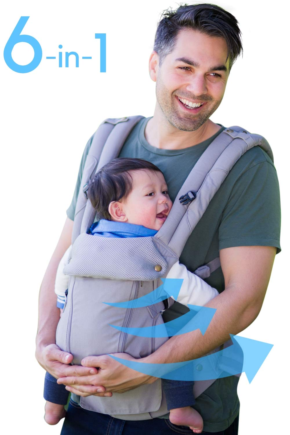 Amazon Com Baby Carrier Reversible Teething Drool Pads