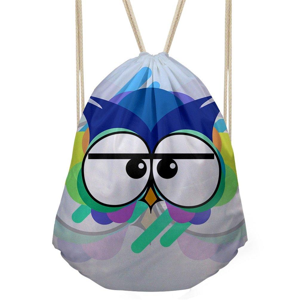 キュート軽量Drawstring Bags Personalizedスポーツジムパック B079JXFD2H  Design16