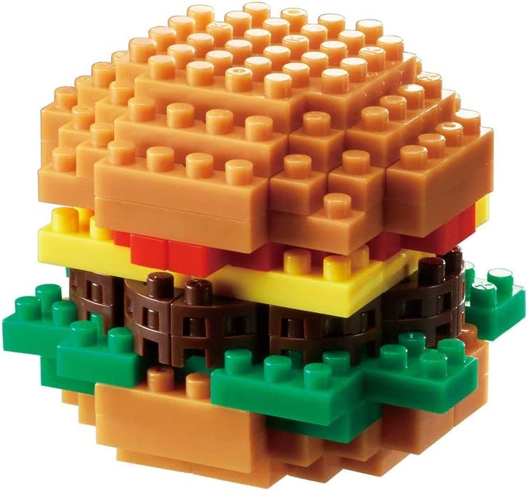 nanoblock Hamburger Building Kit