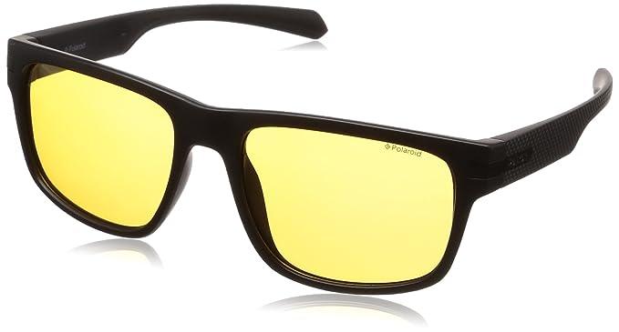 Polaroid Gafas de sol - para hombre Negro negro mate 56 ...